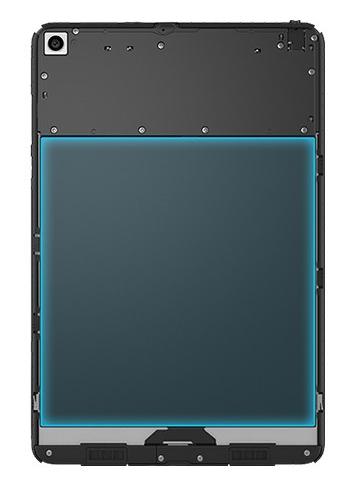 Емкий аккумулятор на 6700 мАч в планшете Xiaomi MiPad