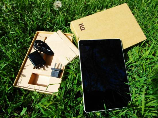 Комплект поставки Xiaomi MiPad