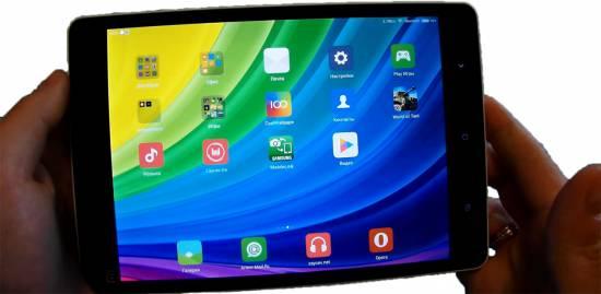 IPS дисплей 7.9'' с разрешением 2К