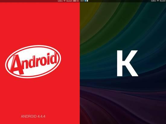 Google Android 4.4.4 KitKat (ядро 3.10.24)