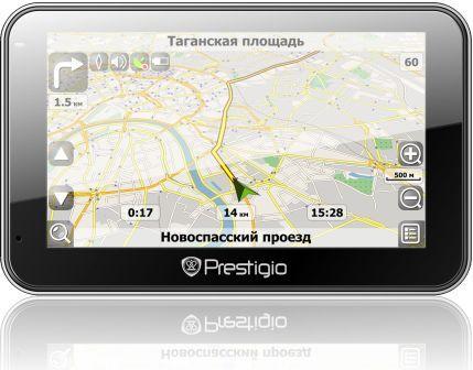 Навигатор Prestigio GeoVision 5600GPRSHD с функциональность GSM телефона