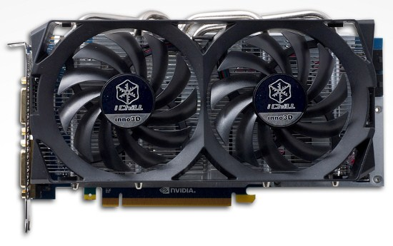 Inno3D оснащает версии GeForce GTX 560 Ti и GeForce GTX 550 Ti кулером HerculeZ