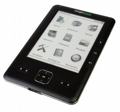 Ридер Gmini MagicBook M6P позволит слушать радио и плеер во время чтения