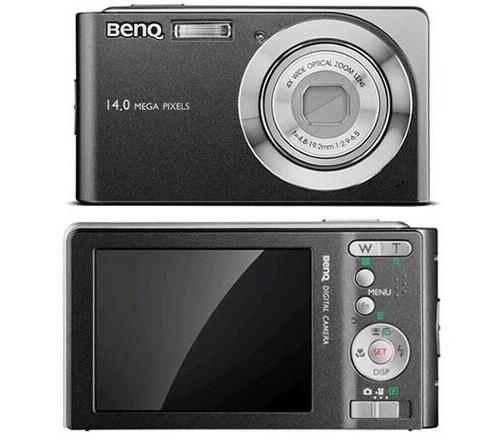 Компактная 14 Мп камера BenQ E1465 подойдет для повседневной съемки
