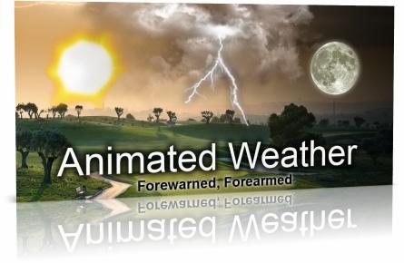 Animated Weather Widget, Clock v4.1.0 Rus - Анимированный прогноз погоды