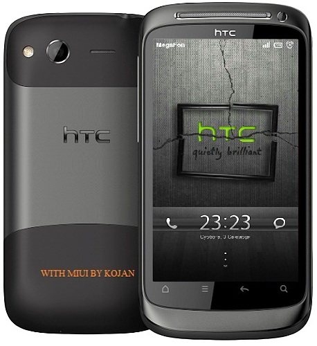 Скачать бесплатно Прошивка Android 2.3.5 MIUI ROM для HTC Desire S (v1.9.2)