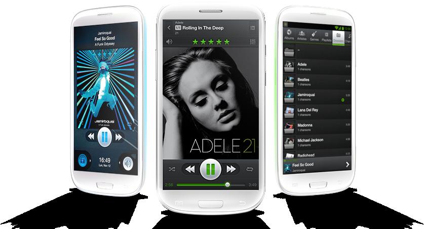 PlayerPro Music v.2.08 + DSP + Skins - многофункциональный плеер с EQ