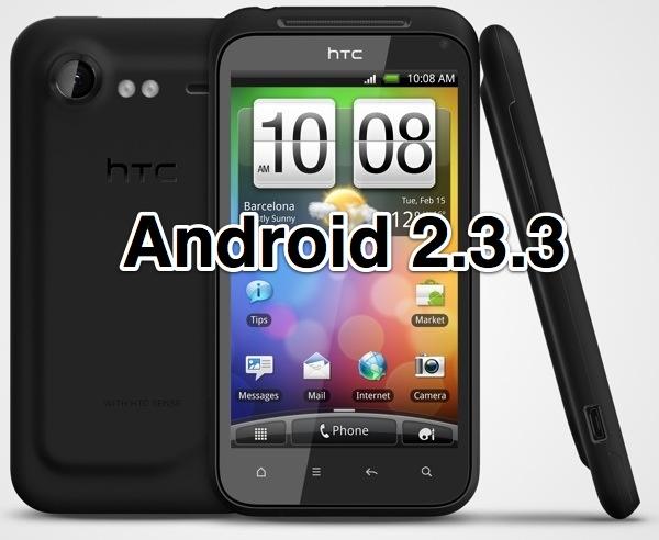 HTC начала распространять в Украине обновление Android 2.3 для Incredible S и Desire HD