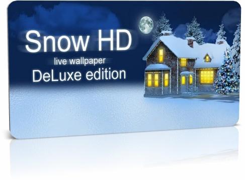 Снег HD Deluxe Edition v.0.8.0-beta - живые обои